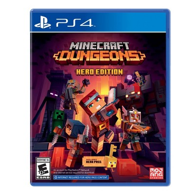 Minecraft: Dungeons Hero Edition - PlayStation 4