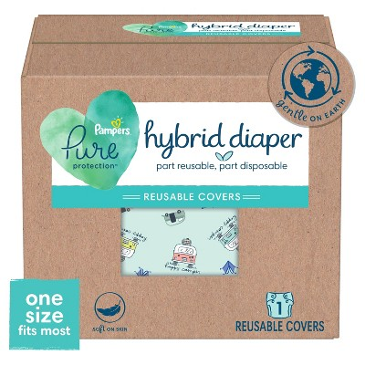 New Pampers Hybrid Covers  - (Select Size and Pattern)