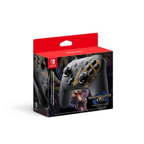 Nintendo Switch Pro Controller Monster Hunter Rise Edition - image 1 of 3