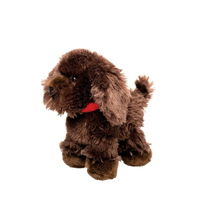 "Manhattan Toy Mon Ami Cappuccino 8"" Stuffed Animal Dog"
