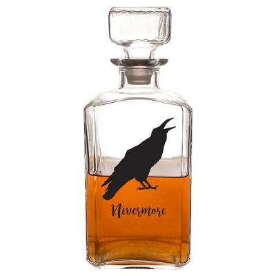 Halloween Raven Decanter