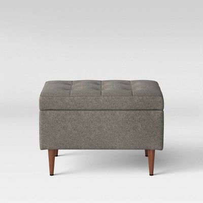 Lemoor Mid Century 28  Ottoman with Storage - Gray - Project 62™