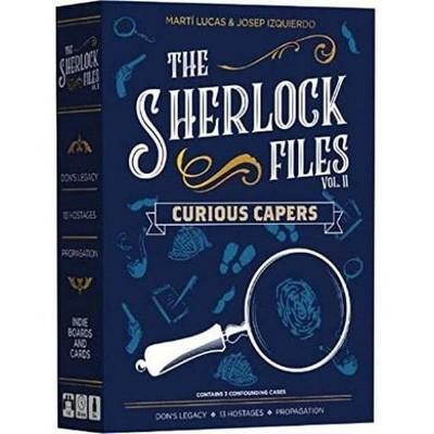 Sherlock Files Vol. II - Curious Capers Board Game