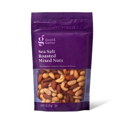Sea Salt Roasted Mixed Nuts - 9oz - Good & Gather™
