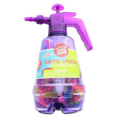Anker Play Battle Splash Water Balloon Pump with 200 Balloons   Purple