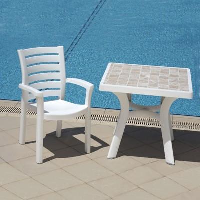 Plastic Resin Patio Chairs Target, Polyurethane Patio Furniture