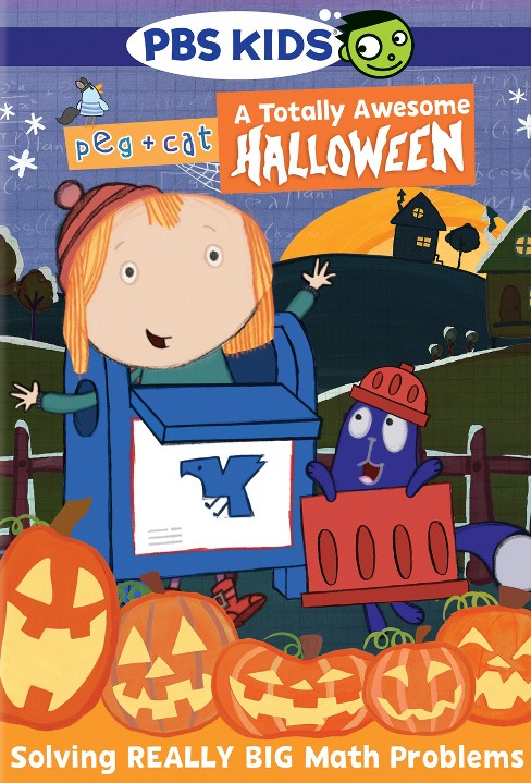 Peg & cat:Totally awesome halloween (DVD) - image 1 of 1