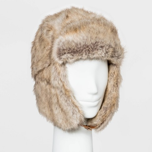 Women's Trapper Hat - Universal Thread™ Brown One Size - image 1 of 1