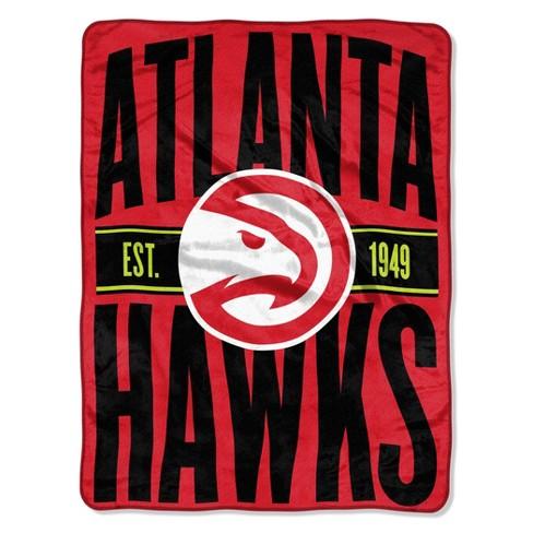 NBA Atlanta Hawks Micro Fleece Blanket - image 1 of 2