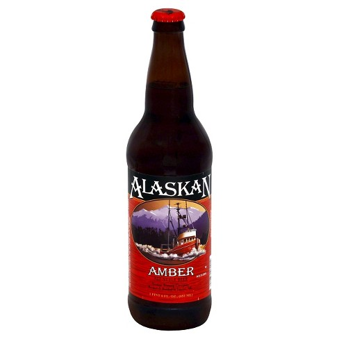Alaskan® Amber Beer - 22oz Bottle - image 1 of 1