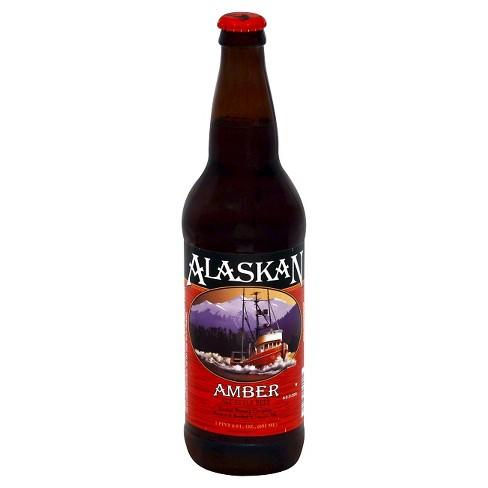 Alaskan Amber Beer - 22 fl oz Bottle - image 1 of 1