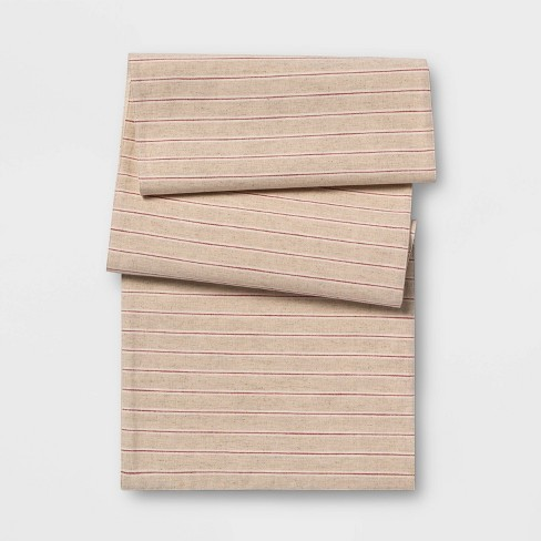 Yarn Dyed Stripe Table Runner - Threshold™ - image 1 of 1