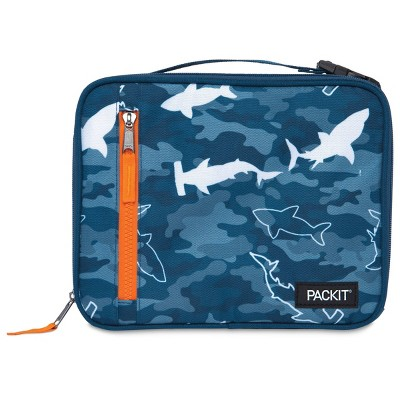 Packit Freezable Classic Lunch Box - Camo Sharks
