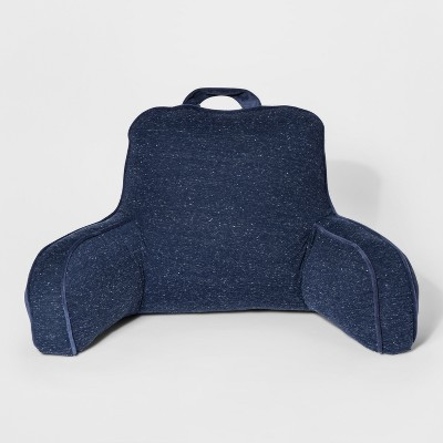 Navy Heathered Jersey Bed Rest - Room Essentials™