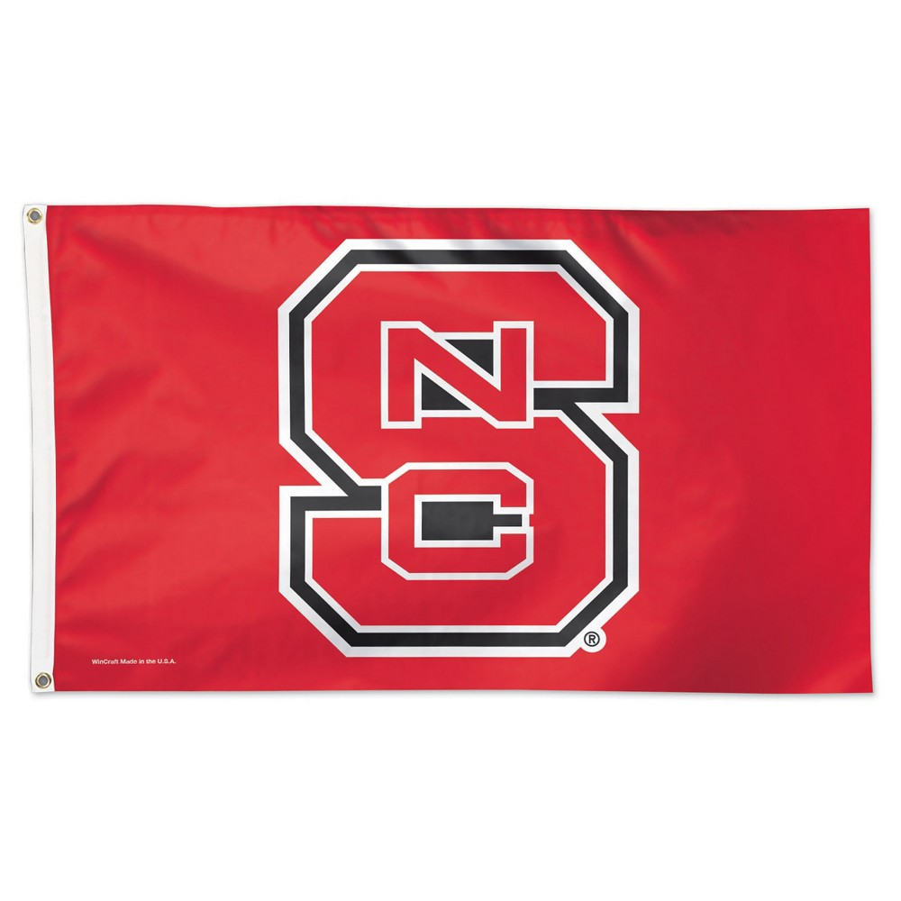 NCAA Wincraft Deluxe Flag NC State Wolfpack - 3x5