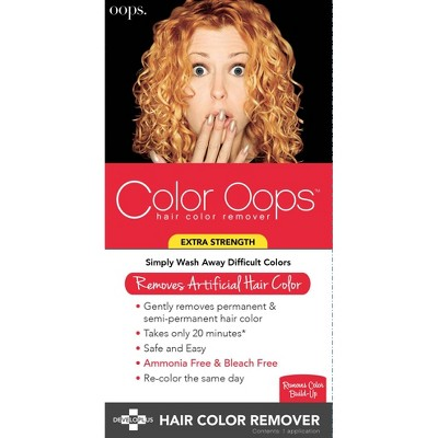 Color Oops Hair Color Remover - 4.1 fl oz