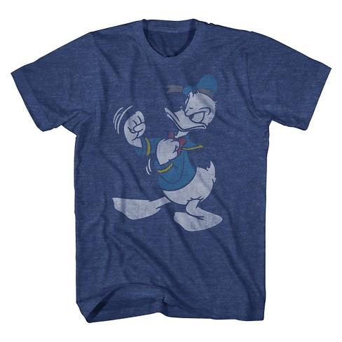 a0186a468595 Men's Disney Donald Duck T-Shirt Navy : Target