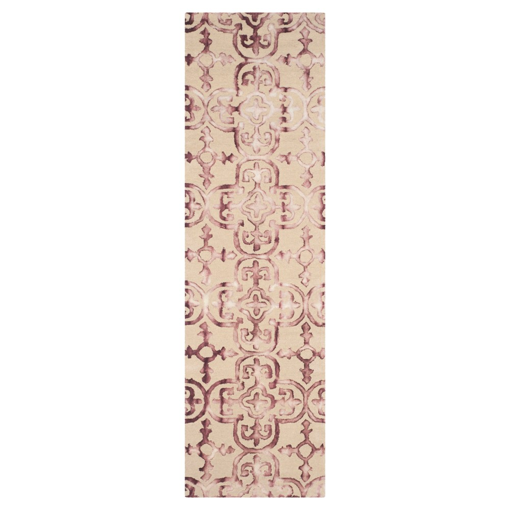 Bardaric Area Rug - Beige/Maroon (Beige/Red) (2'3x12') - Safavieh