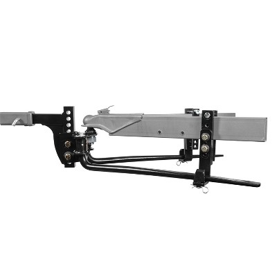 Reese Towpower Pro Round Bar Steel Universal Fit Weight Distributing Kit w/ Installation Hardware, Fits Bottom Mount Couplers, 6000 Pound Capacity