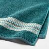 Geometric Towel Green - Threshold™ - image 3 of 4