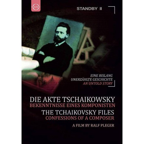 The Tchaikovsky Files: Confessions of a Composer (DVD) - image 1 of 1