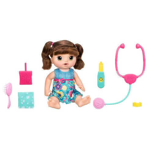 Baby Alive Sweet Tears Baby - Brunette - image 1 of 10
