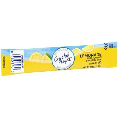 Crystal Light On the Go Natural Lemonade Drink Mix - 10pk/1.4oz