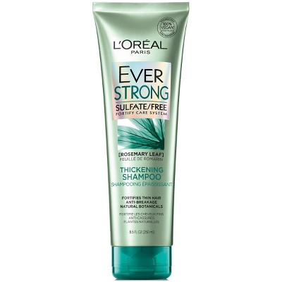 Shampoo & Conditioner: L'Oreal Paris EverStrong