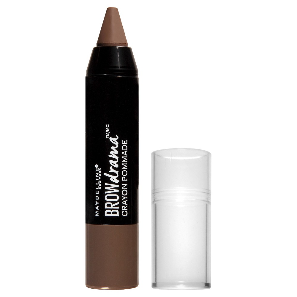 Image of Maybelline Eyestudio Brow Drama Pomade Crayon 255 Soft Brown 0.04oz