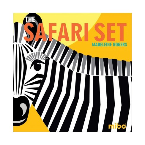 The Safari Set - (Mibo(r)) by  Madeleine Rogers (Board_book) - image 1 of 1