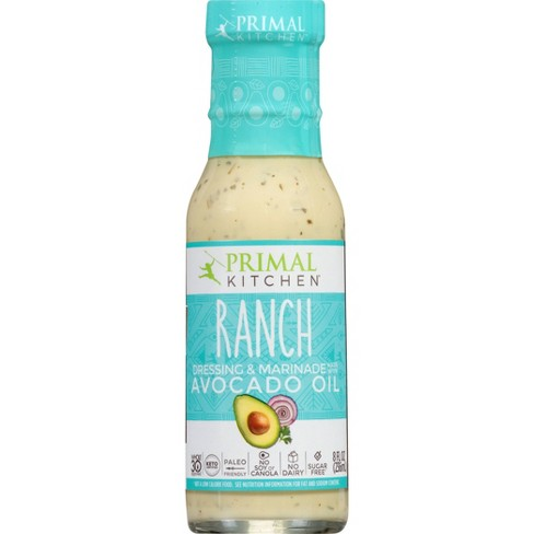 Primal Kitchen Dairy-Free Ranch Dressing with Avocado Oil - 8fl oz - image 1 of 4