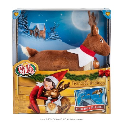 Elf Pets: A Reindeer Tradition - by Chanda Bell (Hardcover)