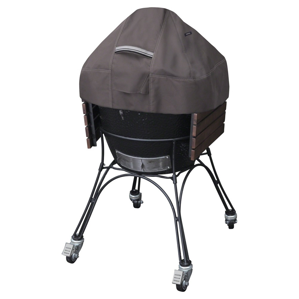 Ravenna Ceramic Grill Dome Cover – Dark Taupe – Classic Accessories 52092682