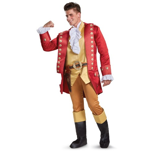 Men's Disney's Beauty and the Beast Gaston Halloween Costume - image 1 of 1