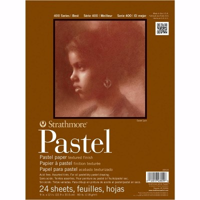 Strathmore 400 Series Pastel Pad, 11 x 14 Inches, 80 lb, 24 Sheets