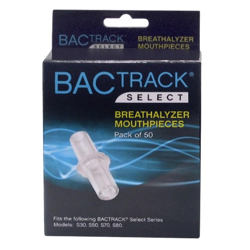 10 pk BACtrack Breathalyzer Mouthpieces for Select BACtrack Breathalyzers