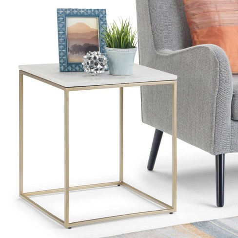 Holmes Accent Table Whitegold Wyndenhall Target
