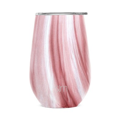 Simple Modern 12oz Stainless Steel Lidded Tumbler Pink