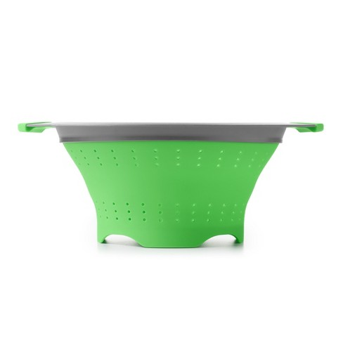 OXO 3.5qt Colander with Handle Green - image 1 of 4
