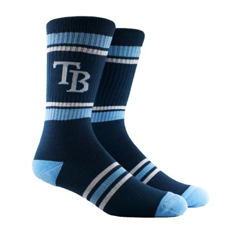 MLB Tampa Bay Rays Youth Crew Socks with Topps - image 1 of 4