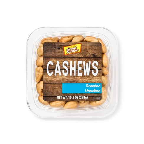 JBSS Roasted No Salt Cashews - 10.5oz - image 1 of 2