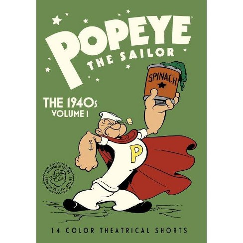 Popeye The Sailor: The 1940s Volume 1 (DVD) - image 1 of 1