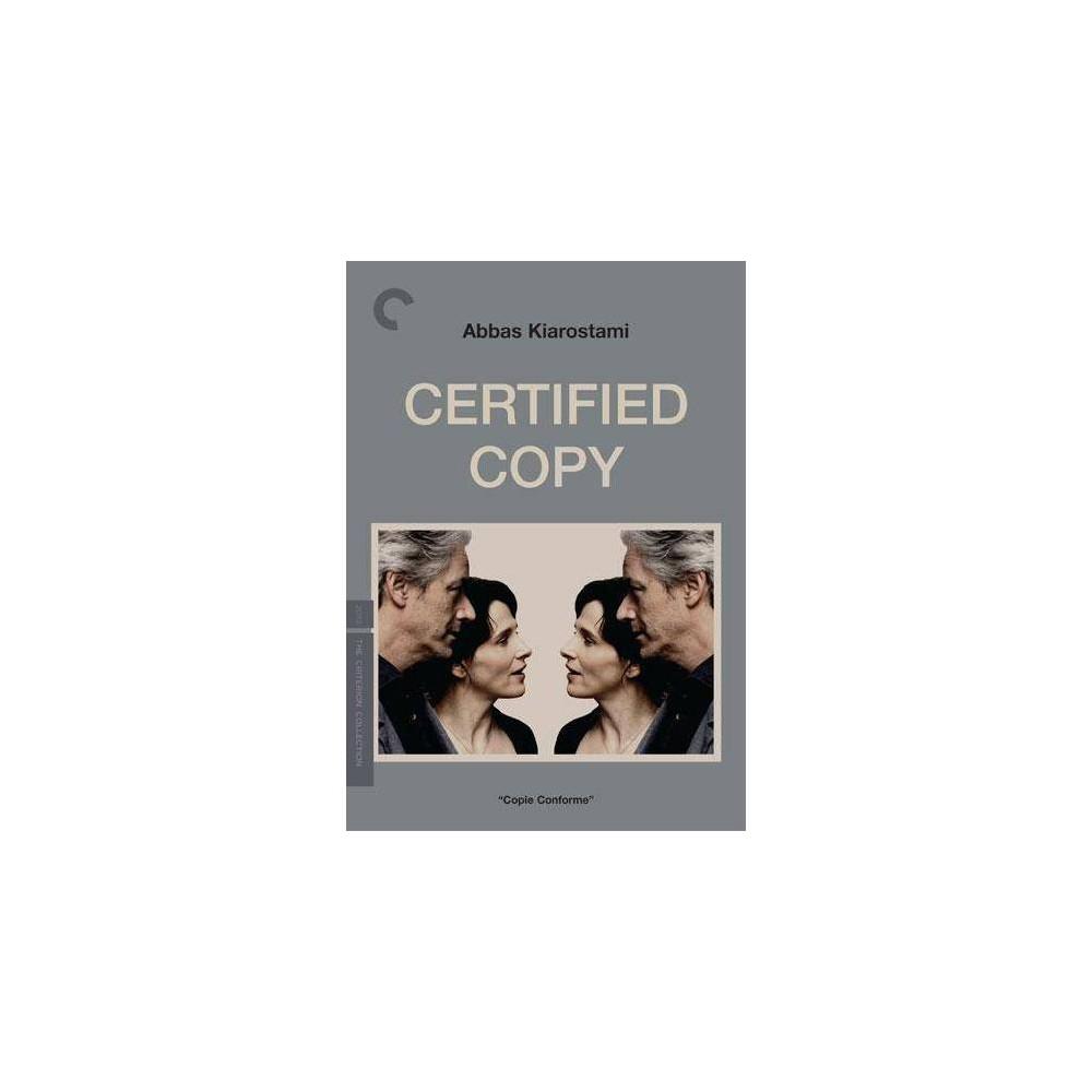 Certified Copy Dvd