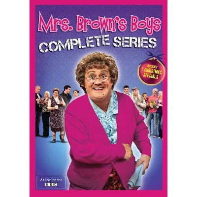 Mrs. Brown's Boys: The Complete Series (DVD)(2015)