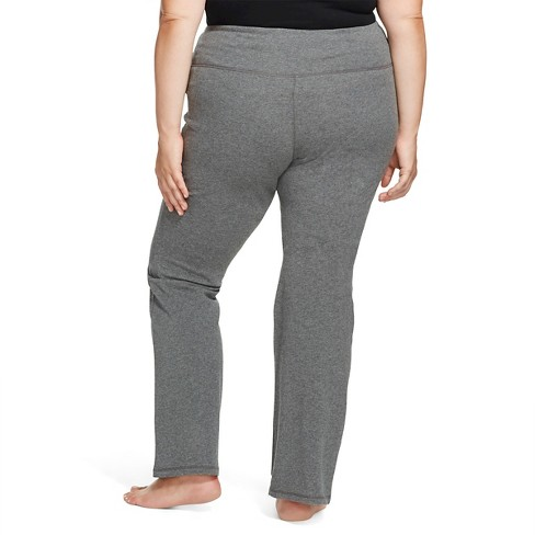899f448635d31 Women's Plus Size Yoga Pants Heather Gray - Mossimo Supply Co.™ : Target
