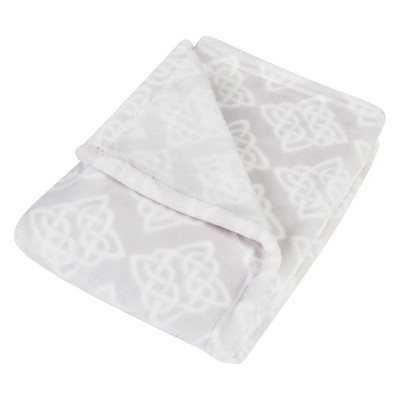 Trend Lab Plush Baby Blanket - Celtic Knot