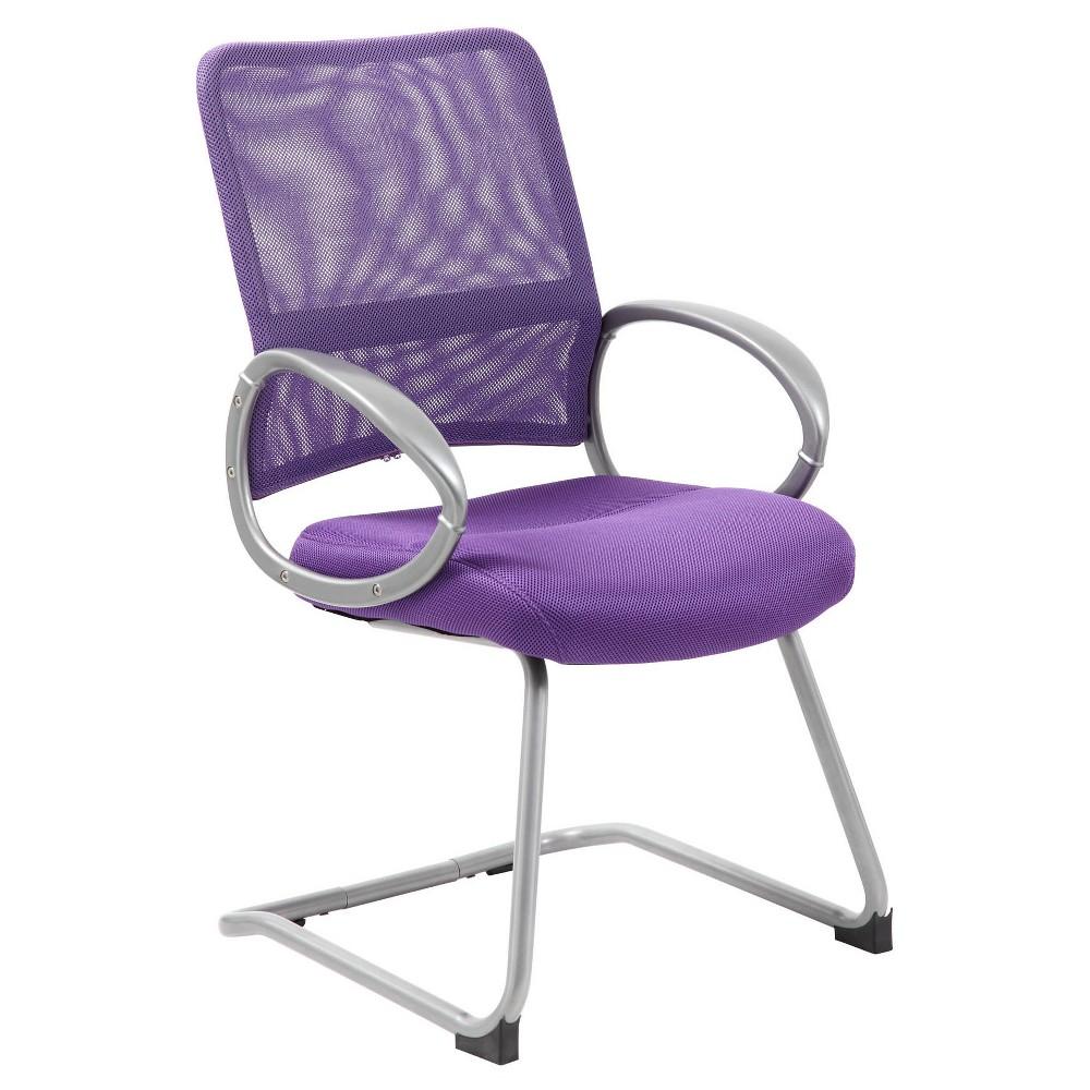 Mesh Guest Chair - Purple - Boss