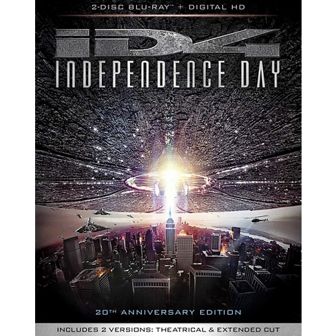 INDEPENDENCE DAY 20th Anniversary Edition (Blu-ray + Digital) - image 1 of 1