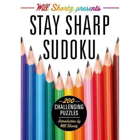 Will Shortz Presents Stay Sharp Sudoku - (Will Shortz Presents...) (Paperback) - image 1 of 1