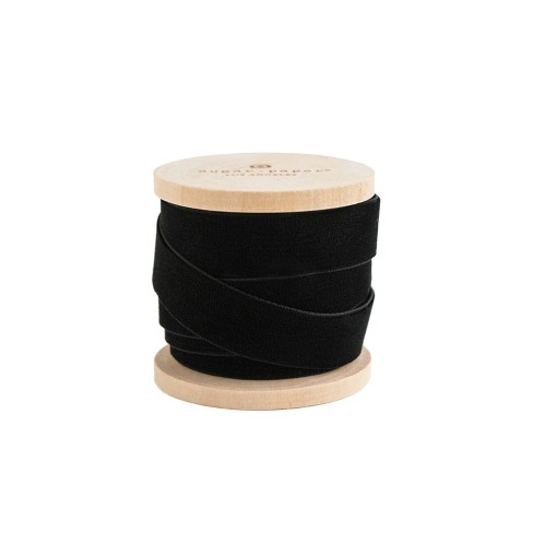 "5/8"" Velvet Ribbon Black 15ft - sugar paper™ - image 1 of 2"